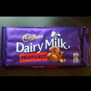 Cadbury Fruit and Nut (Giant bar)