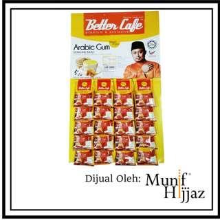 Better Cafe Arabic Gum Kotak (15 sachets X 30G)