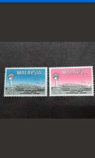 Malaysia 1965 International Airport Complete Set - 2v Used Stamps