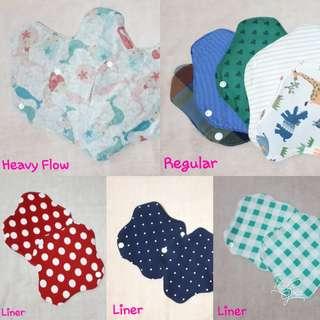 Modern Cloth Pads (Pasador)