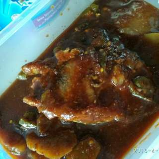 Fish in oyster sauce