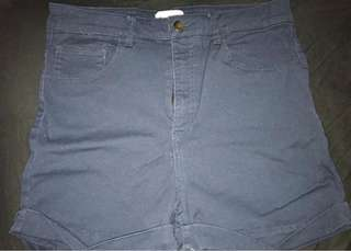 H&M high waisted shorts, size 12