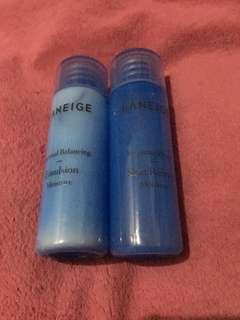 Laneige moisture skin refiner dan emulsion trial size