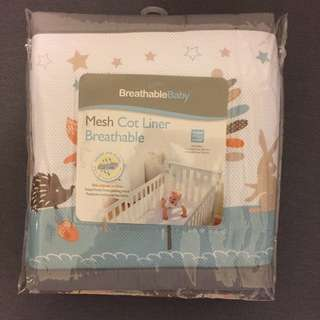 Mesh Cot Liner BreathableBaby