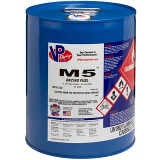 VP Racing Fuel M5 Methanol (19 Liter/Pail)