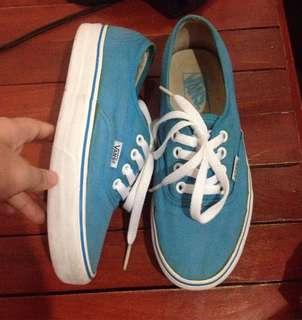 Vans pastel blue