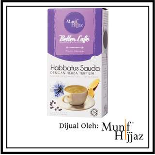 Better Cafe Habbatus Sauda Kotak (15 sachet X 30G)