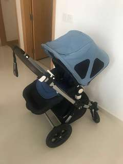 **FULL SET**  2017 Bugaboo Cameleon 3 Classic+ collection navy blue. Warranty until June 2020
