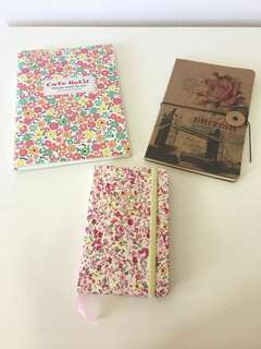 New assorted note books