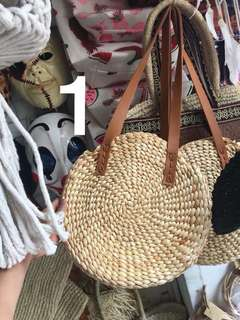 Rattan Roundie Bag from Bali