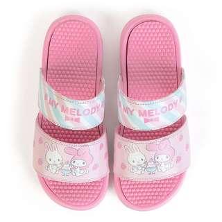 日本Sanrio代購My Melody  EVA一字帶防水家居拖鞋沙灘橡膠涼鞋