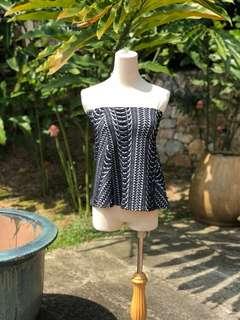 Zara tube top/skirt S