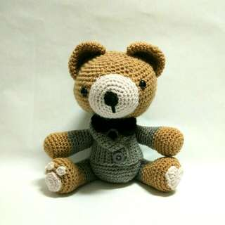 Handmade Crochet Teddy Bear Toy