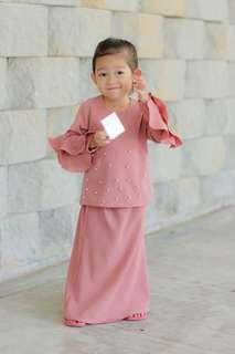 Baju Kurung Kids ROSSA (Candy Pink)
