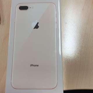 Iphone 8 Plus 256GB Rose Gold