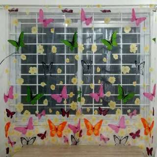 Household Butterfly Curtain