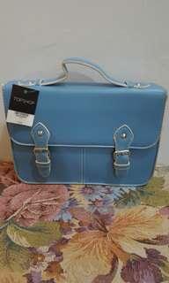 Brand new Topshop satchel blue bag