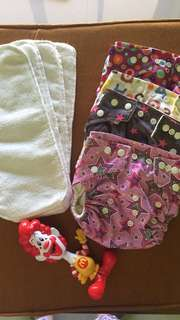 Bundle cloth diapers