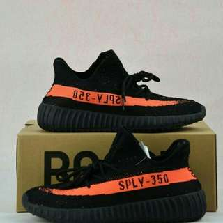 Adidas yezzy bosst black orange