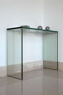 All-glass Desk Table/Console Table