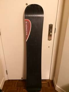 Salomon snowboard with bindings made in France