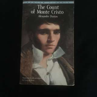 Count of Monte Cristo by Alexandre Dumas (pre-loved)