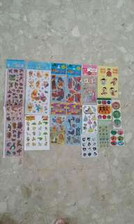 Stickers- all