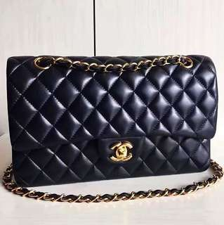 Chanel Lambskin Classic Flap 25 (Just look at the price without looking at quality.Please bypass,Tq)