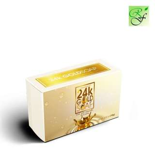 Pyoor Gold 24k Gold Soap 100g