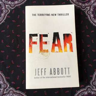 *PRICE DROP* Fear by Jeff Abbott