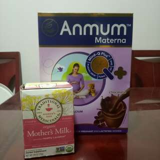 Anmum & Mother's Milk Tea
