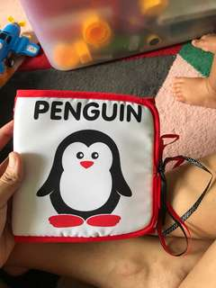 Blessing penguin baby book toy