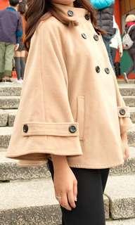 Khaki Cape Coat