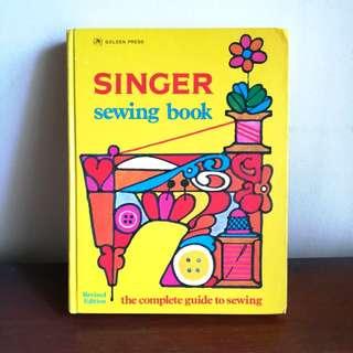 Vintage Singer Sewing Book 1972 edition