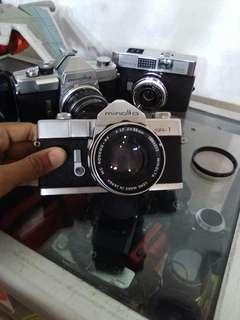 Kamera minolta sr-1 55mm 1:1,7