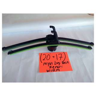 "Soft advantage Wiper More stylist (20""+17"") - myvi lagi best /kenari/wira/putra/satria/atos."