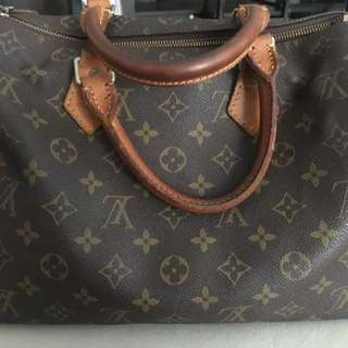 Authentic LV speedy 25