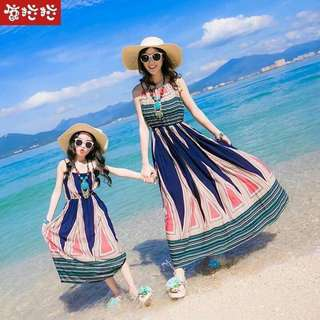 Mother & Daughter Maxi dress