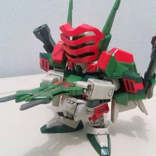 Bandai Gundam SD Verde Buster and Duel Assault Shroud