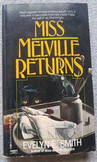 (Mystery book)Miss Melville Returns by Evelyn E. Smith