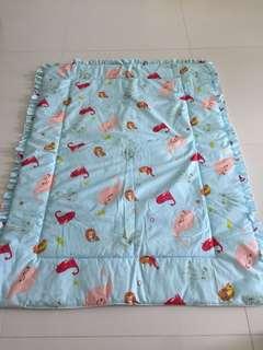 Baby one bedding set mattress bed pillow bolster cot infant
