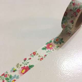 Cath kidston - inspired floral washi tape (Read description)