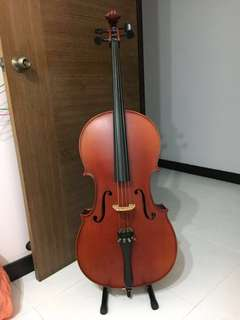 Price reduced!! Used 4/4 full sized cello