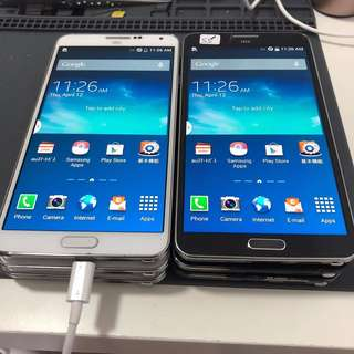 SAMSUNG GALAXY NOTE 3 SCL-22 3+32 AU JAPAN [SECONDHAND]