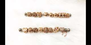 Original PANDORA Rose Gold Charms