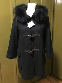 Toggle Wool Coat