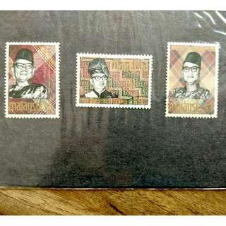 [RARE] Malaysia Solidarity Week Prime Minister Complete Set 1969