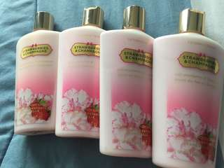 Victoria Secret Lotion ( Strawberries and Champagne)