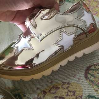 [PL] Stella McCartney design shoes size 26 gold colour