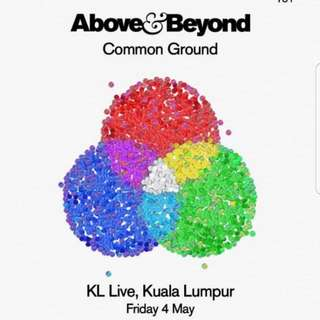 Above & Beyond At KL LIVE 4 May